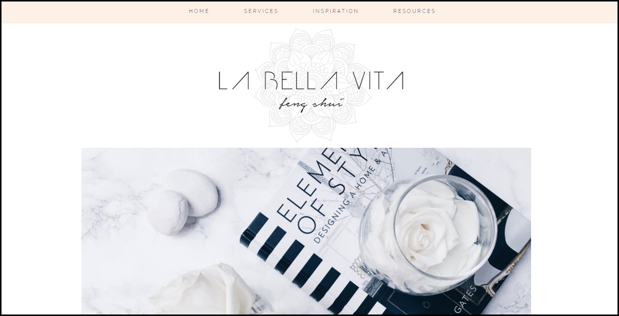La Bella Vita Feng Shui Website